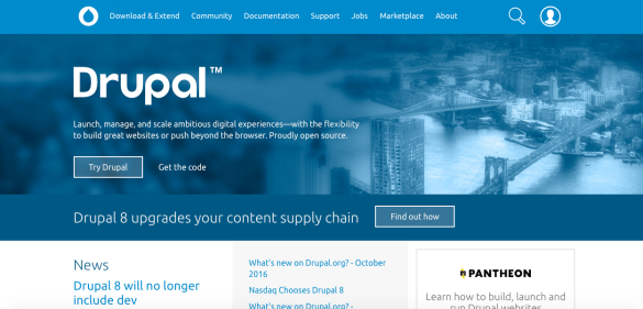 drupal_front_page